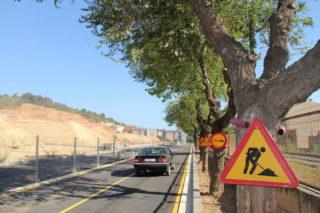 L'avinguda Mancomunitat s'ha obert al trànsit de vehicles però no de vianants // Jordi Julià