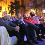 Els Dracs converteixen el pregó en un documental vivent
