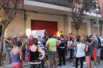 La manifestació ha sortit de davant de l'espai on hi haurà la mesquita // Jordi Julià
