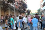 Els Mossos van explicar que la manifestació era il·legal // Jordi Julià