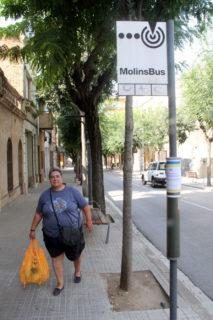 Àngels Campillo, una de les veïnes queixoses del canvi // Jordi Julià