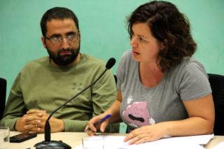 La regidora Ana Aroca de Molins Camina va ser l'única que va votar en contra de les ordenances fiscals // Jordi Julià