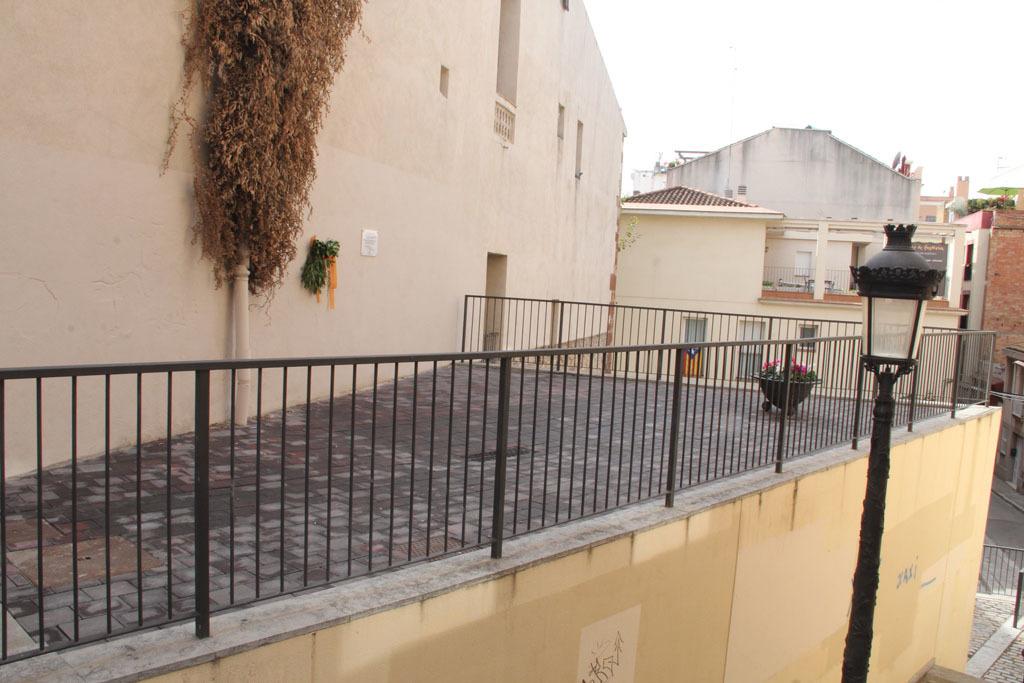 El racó de Lluís Companys és a sobre de les escales entre el carrer Major i el racó dels Gegants Vells // Jordi Julià