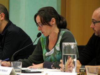 Sílvia Guillén, portaveu d'ERC, que ha pactat les bonificacions amb el govern de CDC i PSC // Jordi Julià