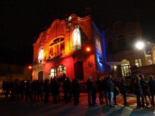 Tot i que suma La Gòtica, La Peni segueix sent l'espai central del festival // Arxiu -- Festival de Cine de Terror de Molins de Rei