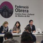 El PSC del Baix Llobregat es reuneix a Molins de Rei per reclamar més polítiques contra la violència masclista