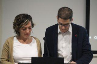 Revestido i Castro llegint el manifest // Jose Polo