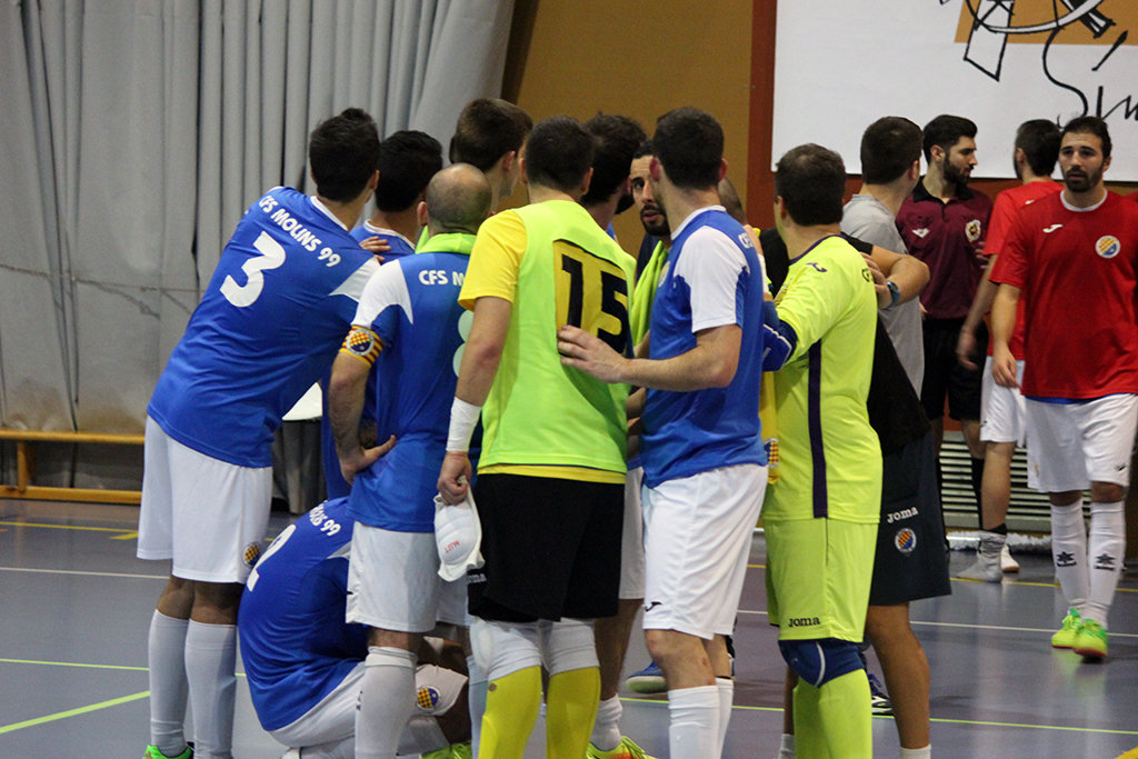 L'equip unit després del partit // Jose Polo