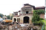 El 25 d'octubre una part de la casa del Terraplè que havia d'estar protegida ja estava a terra // Jordi Julià