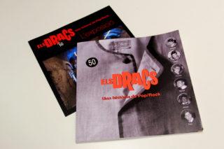 """El llibre """"Els Dracs, una història de pop/rock"""" recull el que es va veure a l'exposició però també als altres actes d'homenatge i vivències dels seus membres // Jordi Julià"""