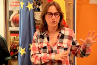 Núria Llop, vinculada amb Convergència des de l'anterior legislatura, és la presidenta del PDECat a Molins de Rei // Jordi Julià