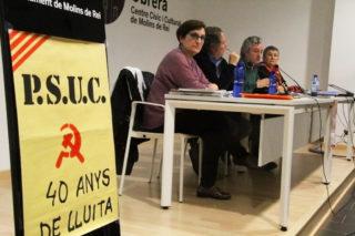 Els 80 anys del PSUC han servit perquè el partit es retrobi // Jordi Julià