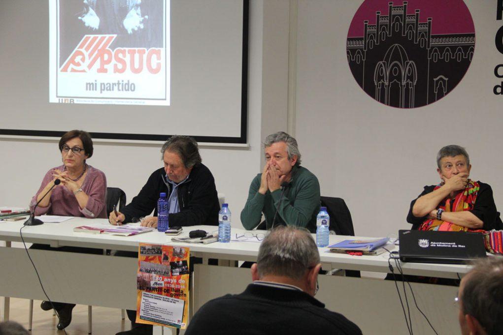 Genoveva Català, Jaume Bosch, Andreu Mayayo i Antònia Castellana // Jordi Julià