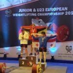 Marcos Ruiz aconsegueix tres medalles d'or al Campionat d'Europa d'halterofília