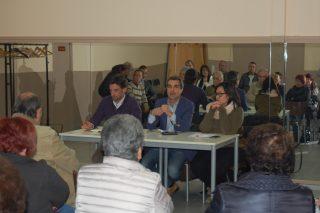 Els responsables polítics van explicar el pressupost i les inversions previstes // Marc Pidelaserra