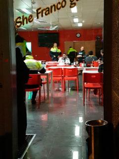 Mossos i Guàrdia Urbana van registrar el Bar Troy divendres passat // Cedida