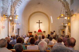 L'interior de Santa Creu es podrà visitar molt més sovint gràcies a l'acord // Parròquies de Molins de Rei
