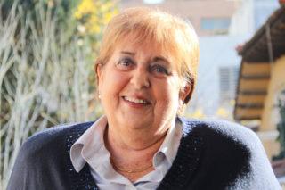 Ramona Suquet al darrere de casa seva // Jordi Julià