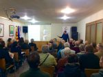El professor Andreu Vila va explicar les bondats de l'agricultura ecològica - Marc Pidelaserra