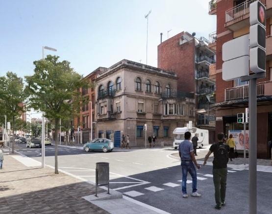 L'Ajuntament ha presentat les tres opcions amb unes imatges virtuals que fan que totes tres semblin idèntiques // Ajuntament de Molins de Rei