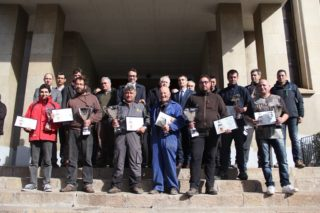 Entre els guanyadors del Concurs de Planter de la 166a Fira de la Candelera hi ha hagut moltes cares noves // Jordi Julià