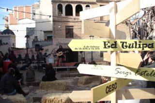 Ed Tulipa va ser un dels artistes que van tocar als Tastets Musicals per la Candelera // Jordi Julià
