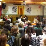 La Barrina s'omple per la presentació del llibre 'Curs de Feminisme per microones'