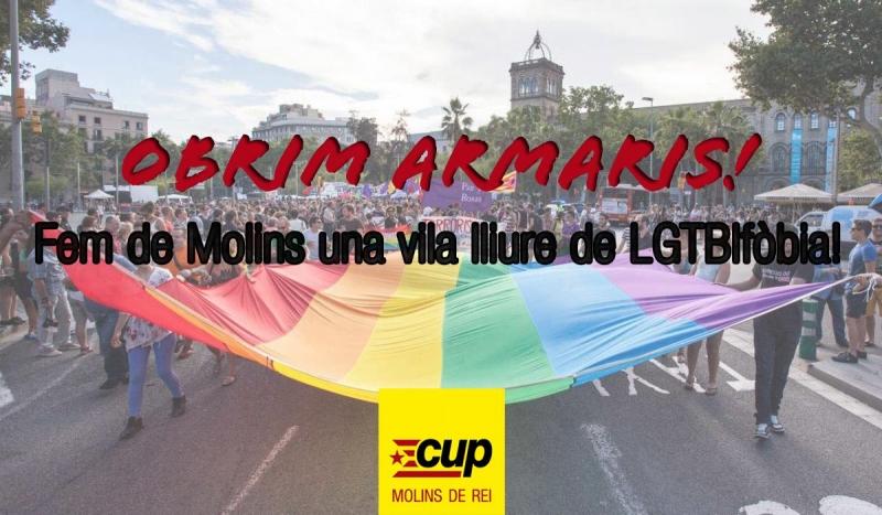 Les mesures van ser proposades per la CUP en una moció aprovada per unanimitat // CUP Molins de Rei
