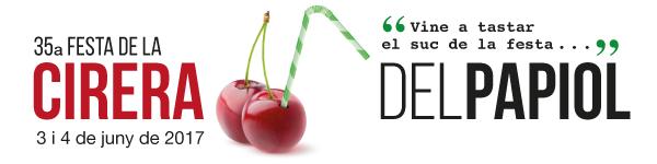 Festa de la Cirera El Papiol, 3 i 4 de juny