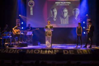 Joan Ramon Casals va vincular els premis i la llibertat d'expressió // Ajuntament de Molins de Rei