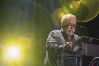 Pere Vila, guanyador del Premi Trajectòria // Ajuntament de Molins de Rei