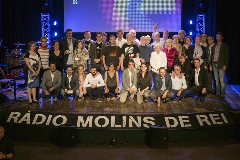 La gala dels premis de Ràdio Molins de Rei ha repetit el format més íntim a La Peni // Ajuntament de Molins de Rei