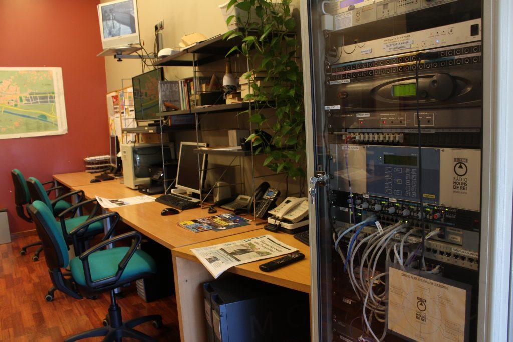 A Ràdio Molins de Rei s'ha detectat el virus en un ordinador i el servidor d'àudio, tot i que no s'han compromès arxius // Jordi Julià