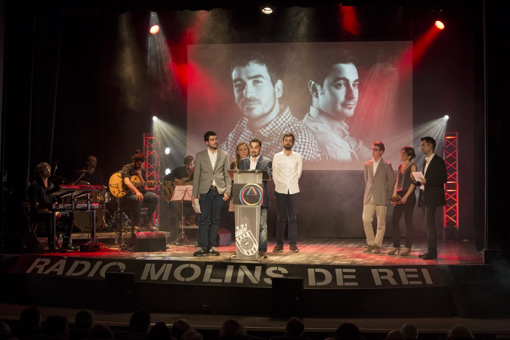 Els Premis Ràdio Molins de Rei han reconegut a Viu Molins de Rei // Ajuntament de Molins de Rei