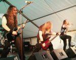 L'edició de l'any passat del festival amb el grup Centinex // Metal Defenders