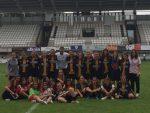La participació del Molins de Rei CF a la Donosti Cup ha estat una experiència molt positiva per al club // Molins de Rei CF