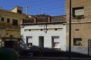 L'habitatge ocupat al barri de la Riera Bonet // David Bueno