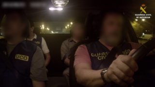 La persona detinguda aMolins de Rei era buscat per la Justícia dels Estats Units // Guàrdia Civil