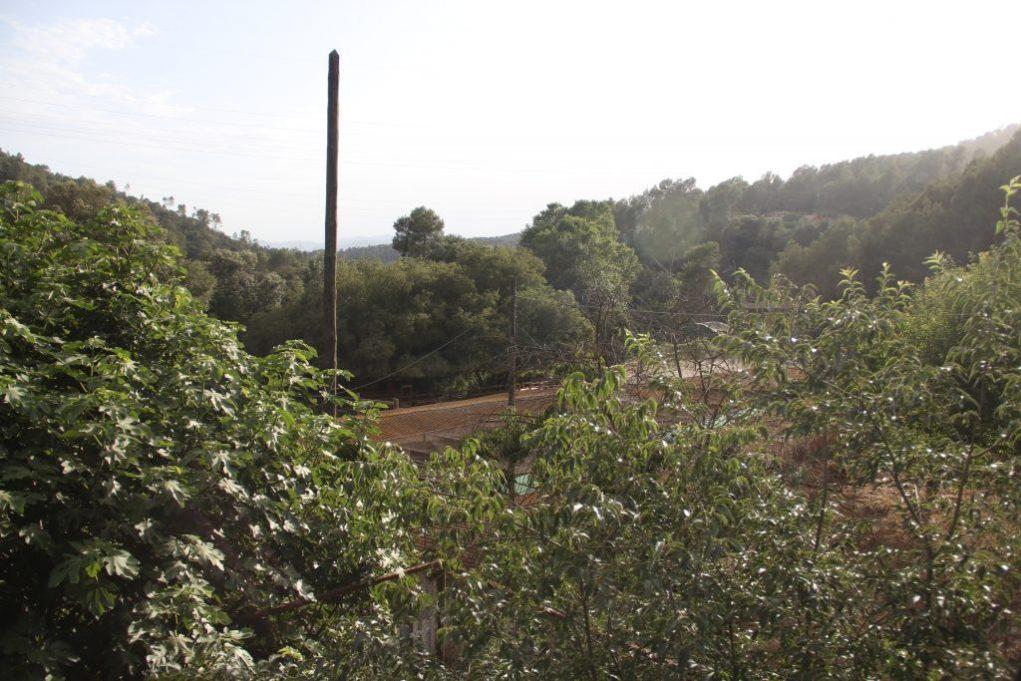 La zona del Pla Parcial vista des de la masia de Can Castellví // Jordi Julià