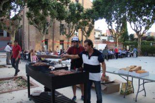 Per tancar el curs polític, el PSC va organitzar la botifarrada de la Festa d'estiu // Jordi Julià