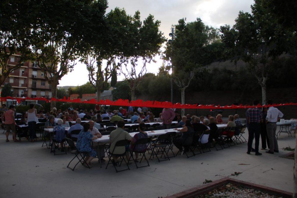 Els simpatitzants socialistes es van reunir a la pista de la Federació Obrera // Jordi Julià