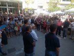 Més de 400 persones s'han concentrat a la plaça de l'Ajuntament per rebutjar els atemptats // Ajuntament de Molins de ReiMés de 400 persones s'han concentrat a la plaça de l'Ajuntament per rebutjar els atemptats // Ajuntament de Molins de Rei