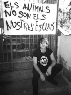Jaume Montmany ha centrat els darrers anys a la conscienciar sobre el veganisme // Carles Joan Pi