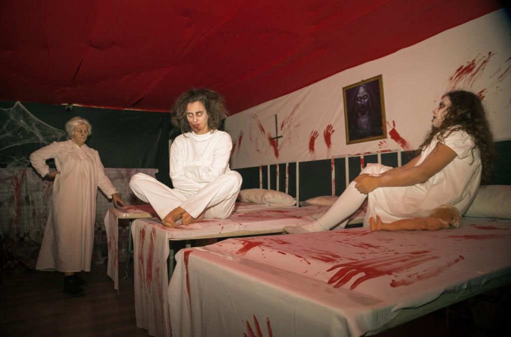 El túnel del terror de les Conserves estava ambientat en un hospital psiquiàtric // AV Les Conserves
