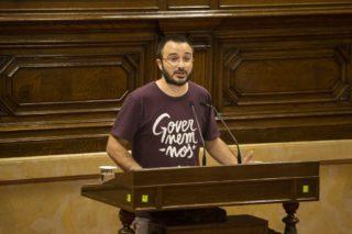 Albert Botran durant el ple del Parlament del passat 7 de setembre // Job Vermeulen -- Parlament de Catalunya