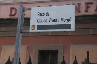 El nou espai s'anomena 'Racó de Carles Vives i Morgó' // Jordi Julià