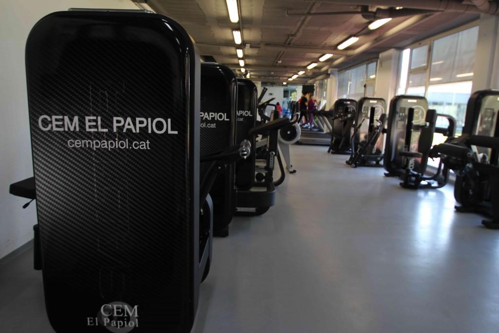 El nou aspecte del centre esportiu de la població, situat a 5 minuts del centre de Molins de Rei // CEM El Papiol