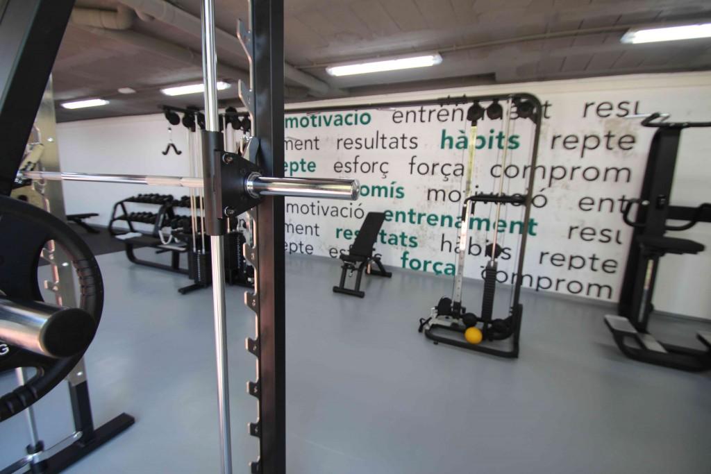 Amb la reforma, s'ha ampliat la superfície 200 metres quadrats // CEM El Papiol