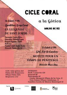 Cicle Coral a la Gòtica: 'Motets pour un temps de pénitence' @ La Gòtica | Espanya