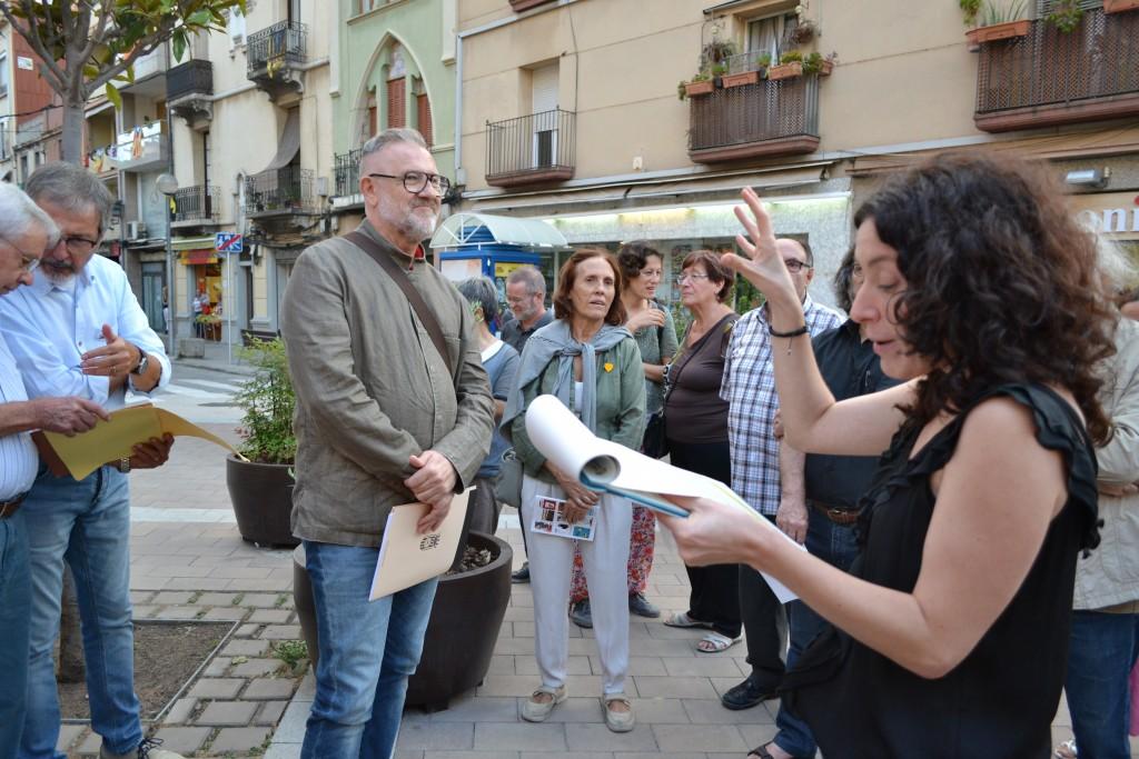 Glòria Massana explica la rellevància que va tenir el cinema al Foment // DGM